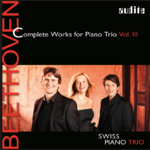 BEETHOVEN Piano Trios Vol. III | Swiss Piano Trio